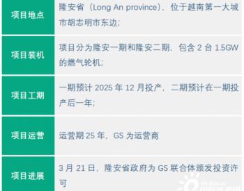 韩国GS联合体签署越南30亿美元燃气电站