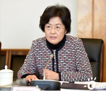财政部副部长程丽华,任安徽省委副书记