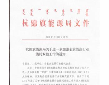 3天损失近350万,内蒙古杭锦旗要求风电、光伏项目停产保双控目标!