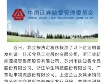 <em>浙能集团</em>旗下浙江新能IPO获批,发力水电、光伏、风电