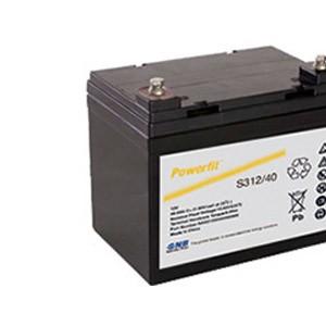 美国GNB蓄电池Powerfit S300系列型号参数表