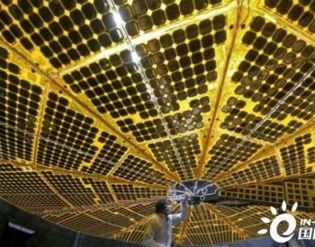 """美国宇航局""""Lucy""""航天器巨型太阳能电池板部署测试顺利进行"""