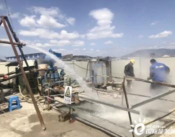 福建福州市成功找到地热 孔口水温77℃