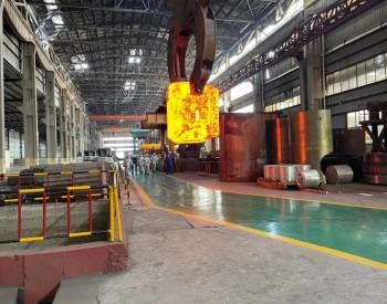 宏润核装:顺利完成百万千瓦核电不锈钢泵壳热胎模