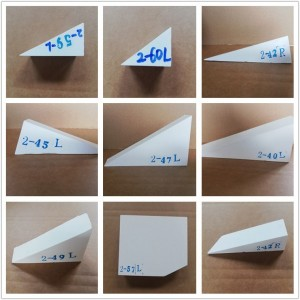 淄博中泽 厂家销售 根据客户尺寸定做的 ZTA 砖