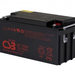 CSB蓄电池GP12650/12V65AH铅酸免维护VRLA