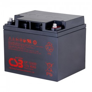 CSB蓄电池GP12400/12V40AH铅酸长寿命VRLA