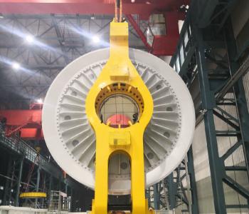 东方电气研制成功国内首台陆上5.5MW永磁直驱风力<em>发电机</em>