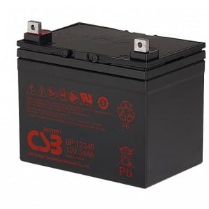 CSB蓄电池GP12340/12V34AH铅酸免维护 长寿命