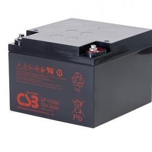 CSB蓄电池GP12260/12V26AH铅酸VRLA蓄电池