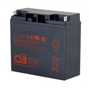 CSB蓄电池GP12170/12V17AH铅酸免维护VRLA