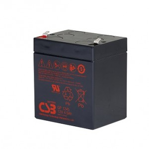 CSB蓄电池GP1245/12V4.5AH铅酸免维护蓄电池
