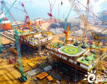 渤海首个<em>岸电项目</em>全部电力组块顺利装船