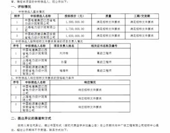 中标丨中广核江西赣县高峰山三期50.25MW风电场工程勘察设计中标候选人公示
