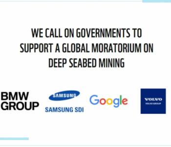 宝马、沃尔沃、谷歌等公司拒绝购买深海开采的金属