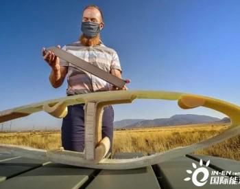 ORNL新型大丝束碳纤维可将叶片主梁材料成本降低