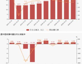 【图解年报】乐山电力:2020年归母净利润同比增长