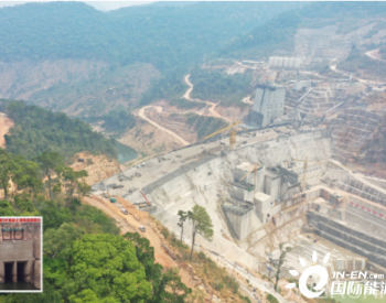 <em>老挝</em>副总理出席中国电建<em>老挝</em>南屯1水电站导流洞下闸仪式