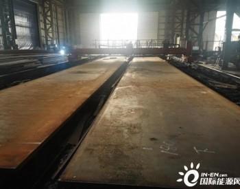 中广核广东惠州港口海上风电项目塔筒正式开工