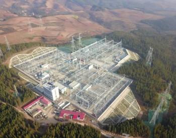 云南省首个执行南方电网智能变电站500千伏明通输