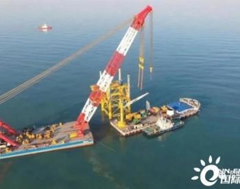 天津港航工程公司成功进军山东海上风电市场