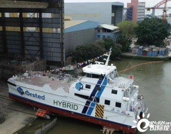 """英辉南方承建风电运维船""""APOLLO""""号下水"""