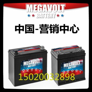 美国MEGAVOLT蓄电池95D31R 深循环