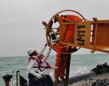 投放12座专用航标!广东汕头首个海上风电项目正加快建设