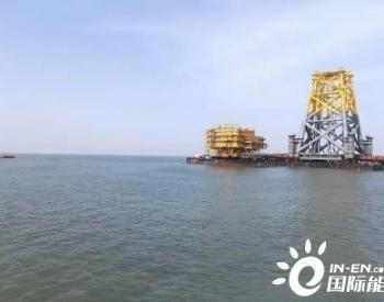 山东海阳海事:全力保障来福士风电大型设备拖带船组出运安全