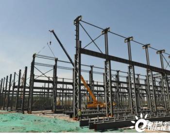 山东胶州市这个大型电气风电装备产业园预计提前半年全部完工!