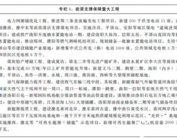 """河南省""""十四五规划"""":谋划豫南、豫中东等高效清"""