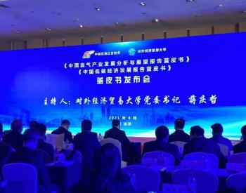 油气产业和低碳经济发展报告 蓝皮书在京发布