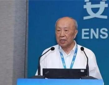 杨裕生院士:大力发展可再生能源,实行全民节能减排