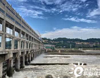 中国能建广西院设计犍为航电枢纽工程两台机组<em>并网发电</em>