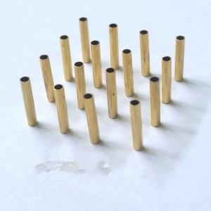 H65硬环保黄铜管精密黄铜管数控切割