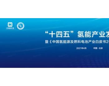 """助力碳中和 !""""十四五""""氢能产业发展论坛在京举办"""