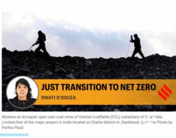印度为何不承诺碳中和:近亿人的生活依赖煤炭!