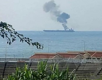 叙利亚海岸外油轮遭疑似无人机袭击