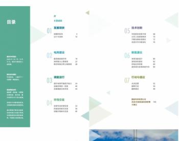 国家电网发布服务新能源发展报告2021