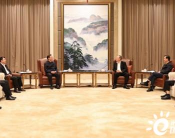 国家电网辛保安拜会福建省委书记尹力、省长王宁