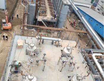 国内首条热电厂烟气二氧化碳捕集纯化装置顺利开车