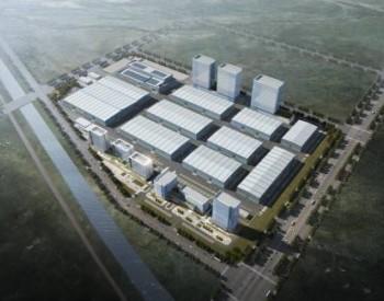 """亚洲最大!青岛这个在建风电产业园""""五一""""不停"""