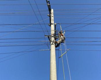"""苏州""""电力铁军""""驰援南通 7000余失电用户恢复供"""