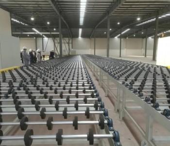 西部首条光伏玻璃生产线点火投产!年产3600万平方米,总投资8.7亿元!