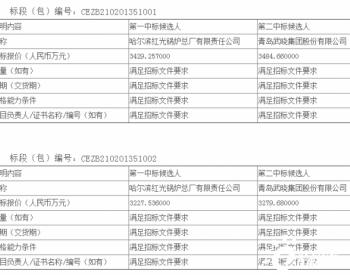 中标丨黑龙江绥化一期100MW风电项目塔筒及附件(标段一)(标段二)采购公开招标项目中标候选人公示