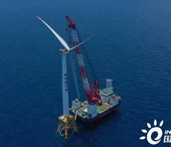 明阳6.8MW机型!国内首个近海深水区海上风电项目首台机组安装完成!(附图集)