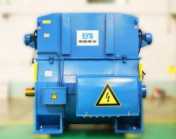 中船电气正式发布全新一代9MW级高速永磁风力发电机!