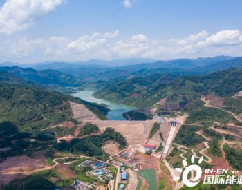 南欧江七级水电站提前完成导流洞封堵重大节点