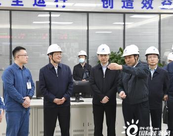 国家能源局局长章建华到华能重庆两江燃机电厂调研