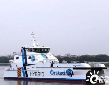 英辉南方高性能混合动力风电运维船ASGARD(ASA102)完成试航